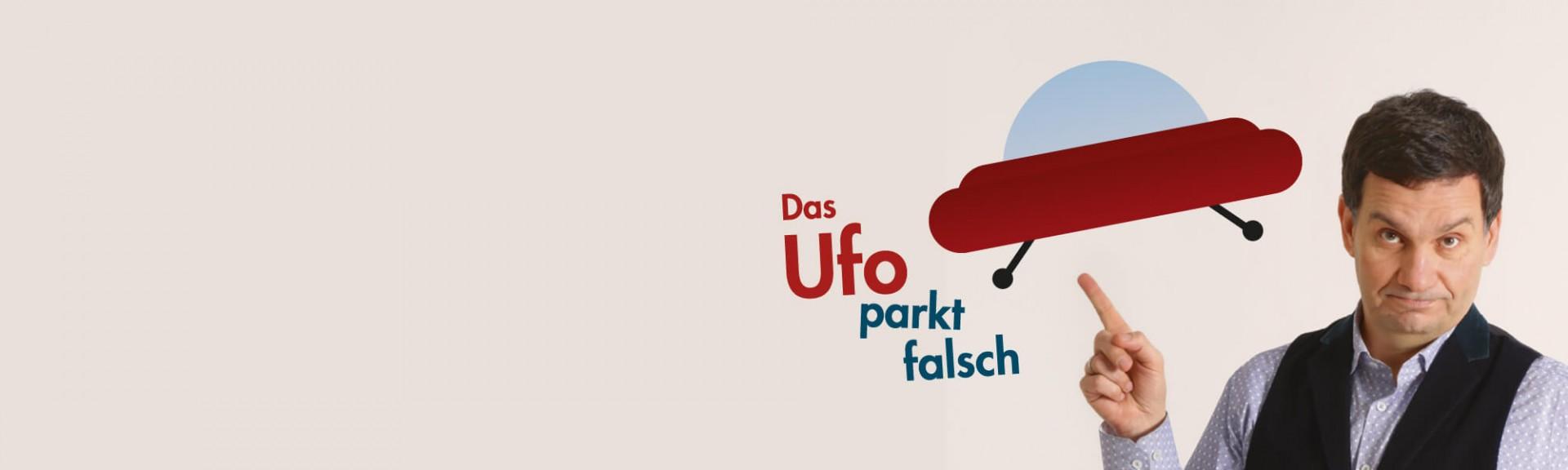 Das Ufo parkt falsch